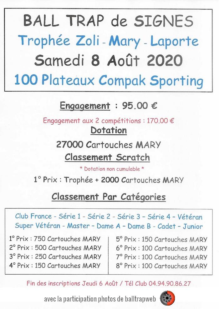 Trophée Compak Sporting Ball-Trap de Signes