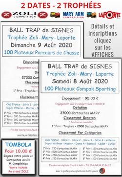 2 Trophées au ball-Trap de Signes
