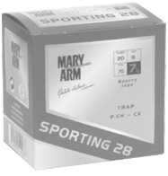cartouches Mary Arm Ball-Trap de Signes