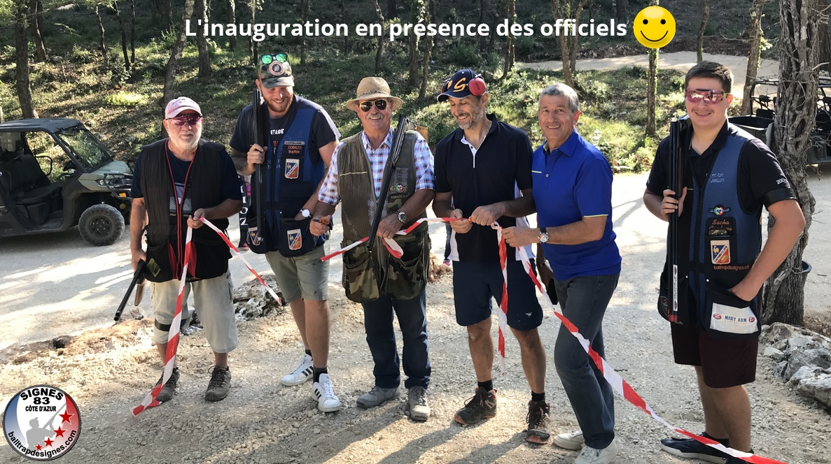 Inauguration lignes compak sporting